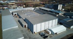 Budowa i przebudowa hal produkcyjno - magazynowych w Rymanowie