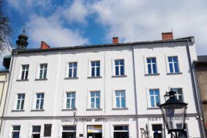 Przebudowa budynku biurowo-usługowego wraz ze zmianą sposobu użytkowania I i II piętra na cele wystawienniczo-biurowe